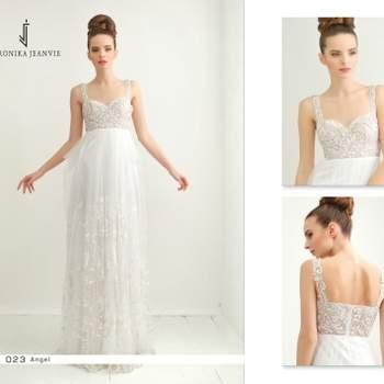 Robe de mariée Veronika Jeanvie - modèle Angel