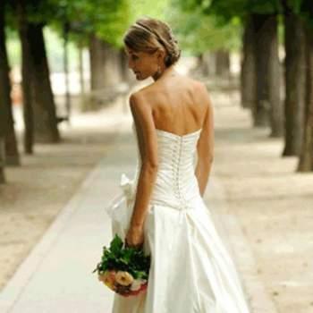 Robe de mariée Emma, vue de dos - Crédit photo: Catherine Varnier