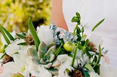 Buquês de noiva para a primavera: escolha o seu