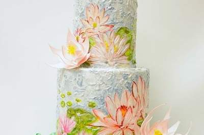 Unique Wedding Cakes Inspired by Art!