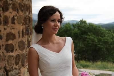 Deslumbra el día de tu boda con un vestido de novia de Carmen Halffter