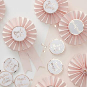 Rosettes Enterrement De Vie De Jeune Fille - The Wedding Shop !