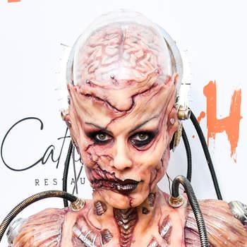 Heidi Klum no Halloween. Foto Reprodução Instagram
