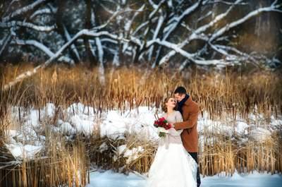 Зимняя сказка: волшебная свадьба Дмитрия и Светланы