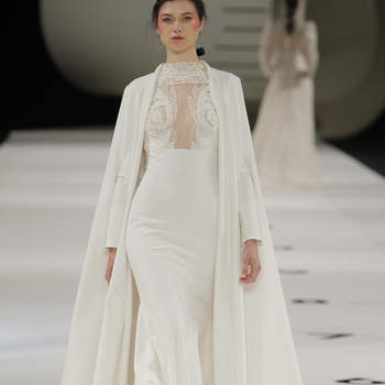 YolanCris. Credits: Barcelona Bridal Fashion Week.