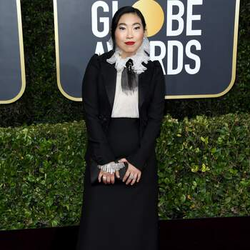 Awkwafina in Dior | Credits: Cordon Press