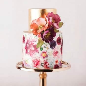 Inspiração para bolos de casamento originais que são verdadeiras obras de arte | Créditos: Cake ink Instagram