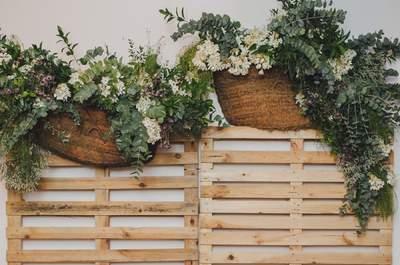 Una historia de amor a través del puente aéreo: la boda de Marta y Edu