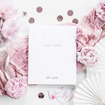 Livre D'or Better Together Blanc - The Wedding Shop !