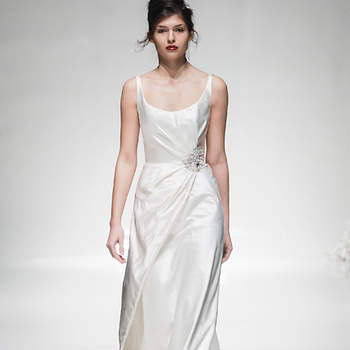 Dress by Lark Bridal. Image: Christopher Dadey for White Gallery London