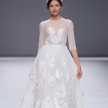 Esther Noriega. Barcelona Bridal Fashion week.