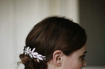 Vintage hair for modern brides in 2015