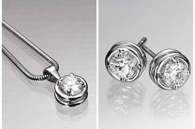 Pendientes de diamantes desmontables, úsalos en cualquier ocasión