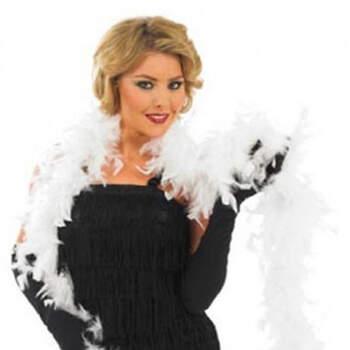 Boa De Plumas Blanco- Compra en The Wedding Shop