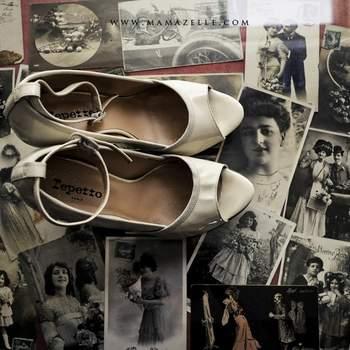 Chaussure peep-toe Repetto, tirées du site www.mamazelle.com.