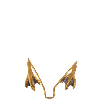Swan legs ear cuff de Beatriz Palacios (123 euros)