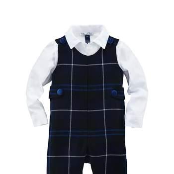Los estampados escoceses también se cuelan en la moda de chico. Foto: Óscar de la Renta