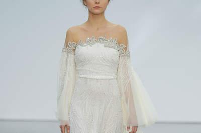 Brautkleider im Off-Shoulder-Look: Pure Eleganz & Extravaganz für Ihren großen Tag