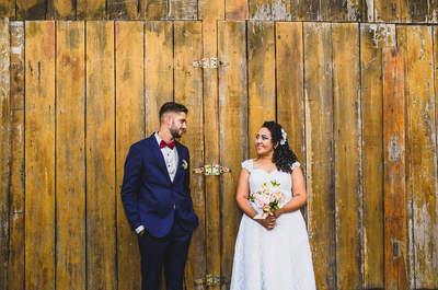 Casamento rústico de Debora e Jackson: simples, original e feito no pesque e pague com muito amor e charme!