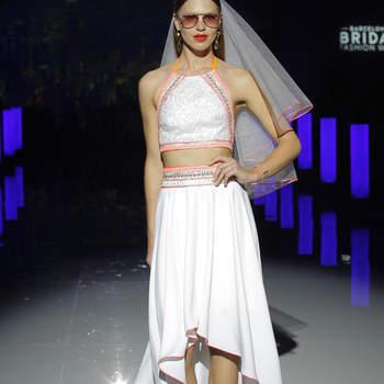Photo Marylise by Rembo Styling, Barcelona Bridal Fashion Week