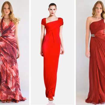 Vermelho é a cor da paixão e também é perfeita para uma madrinha que deseja estar impecável e bem vestida. Veja estas inspirações de vestidos vermelhos que separamos para você!