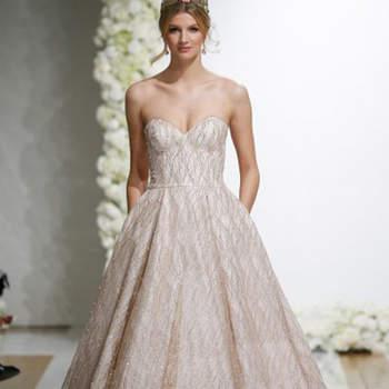 Kleid von MoriLee, Credits:  New York Bridal Week