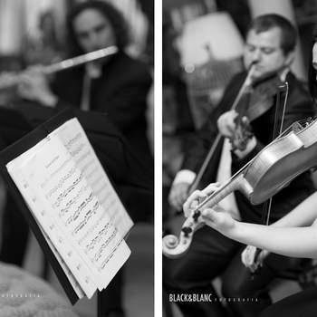 Música en directo: una de las claves de la boda perfecta que también estuvo presente en esta Touch & Feel Experience. Foto: Belle Day. http://belleday.com/es/