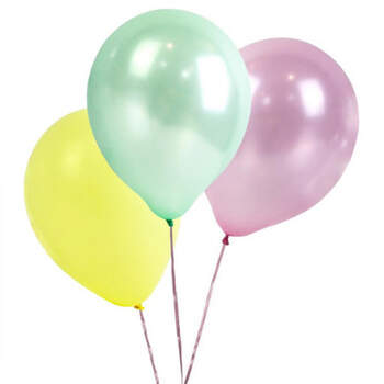 Globos colores pastel 16 unidades- Compra en The Wedding Shop