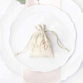 Sachet Gift 10 Pièces - The Wedding Shop !
