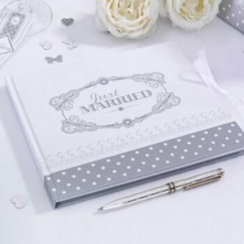Livre D'or Chic Argent - The Wedding Shop !