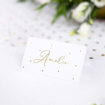 Marcasitio Tradicional Puntos Oro 10 Unidades- Compra en The Wedding Shop