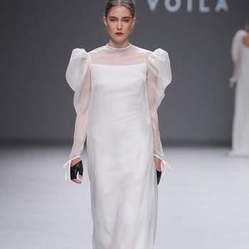 Sophie et Voilà. Barcelona Bridal Fashion Week.