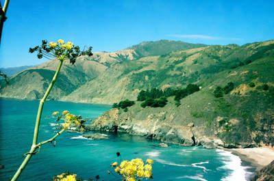 Lua de mel pela costa da Califórnia de carro: Carmel, Big Sur chegando em Los Angeles