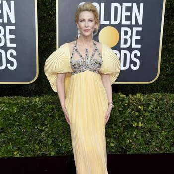 Cate Blanchett in Mary Katrantzou. Foto: Cordon Press