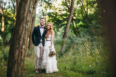 Natural, rústica y perfecta: Una boda de ensueño en Sudáfrica... ¡Te vas a enamorar!