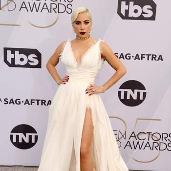 Lady Gaga de Dior Haute Couture /CordonPress