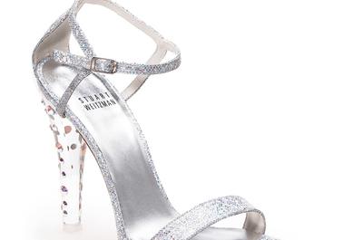 Brillo andante: Zapatillas de novia inspiradas en La Cenicienta