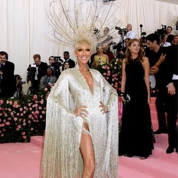 Celine Dion de Oscar de la Renta. Credits: Cordon Press