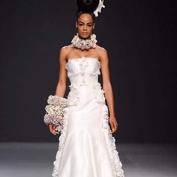 Escote sexy, elegante y discreto. Es uno de los más utilizados por las novias por la comodidad del mismo.