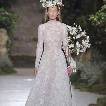 Créditos: Reem Acra | Barcelona Bridal Fashion Week