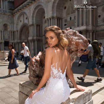 Modelo Tesouro | Foto: Rússia Noivas Divulgação