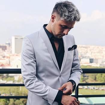 Vestido por Gio Rodrigues. Foto IG @giorodriguesoficiaal