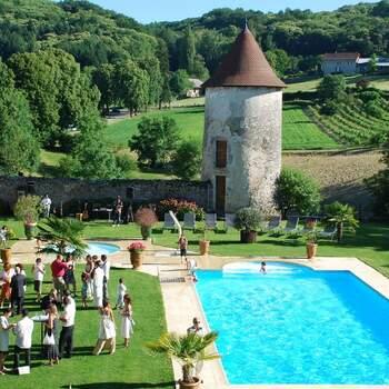 Photo : Château de Chapeau Cornu