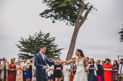 Olivia y Goyo: descubre esta romántica celebración de matrimonio en la playa