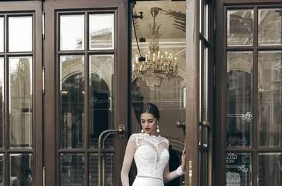 Os 30 vestidos de noiva para mulheres magras 2017 mais espectaculares. Tome nota!