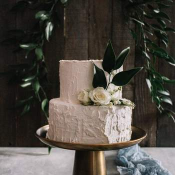 Um bolo de casamento simples, mas maravilhoso: a chave para o sucesso | Créditos: Bakewell