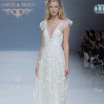 Créditos: Marco & Maria   Barcelona Bridal Fashion Week