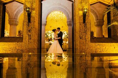 Casamento num castelo digno de conto de fadas: Carol & Victor!