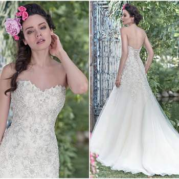 """<a href=""""http://www.maggiesottero.com/maggie-sottero/ladonna/9495"""" target=""""_blank"""">Maggie Sottero Spring 2016</a>"""