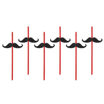 Pajitas Bigote 6 unidades- Compra en The Wedding Shop